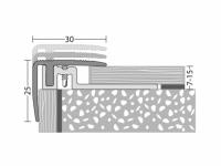 Treppenkantenprofil 30 x 25 mm - Nr.420