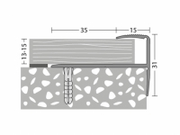 Treppenabschluss-Profil Nr. 273