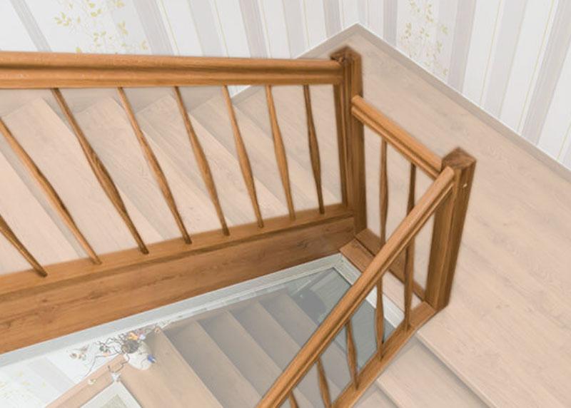 Detailfoto Ansicht und Erklärung zur Geländerrenovierung